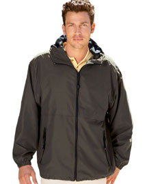 Ultraclub 8908 Hooded Zip Jacket at bigntallappare
