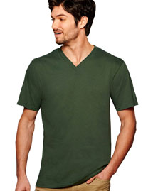 Anvil 982 4.5 oz. Soft Spun Fashion Fit V-Neck T-Shirt at bigntallapparel