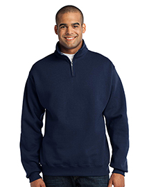 1/4-Zip Cadet Collar Sweatshirt. 995M