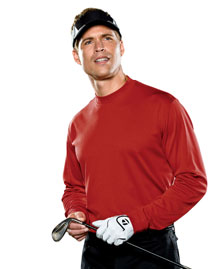 Men's ClimaLite® Tech Long-Sleeve Mock