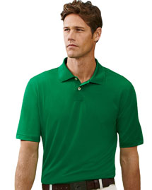 Adidas A55 Men's ClimaLite® Tech Jersey Polo at bigntallapparel
