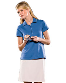 Adidas A89 Ladies' Climalite® Tour Jersey Short-Sleeve Polo at bigntallapparel