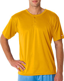 B7930 Badger Adult B-Core Performance Henley Tee