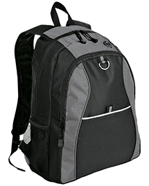Port & Company BG1020 NEW ® - Contrast Honeycomb Backpack.  at bigntallapparel