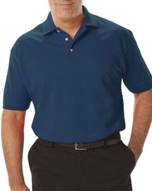 Blue Generation BLG7204 Mens Short Sleeve Superblend Pique No Pocket at bigntallapparel