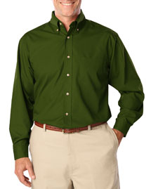 Mens Long Sleeve Easy Care Poplin