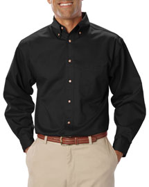 Mens Long Sleeve Teflon Twill
