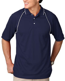 Mens Short Sleeve Wicking Polo
