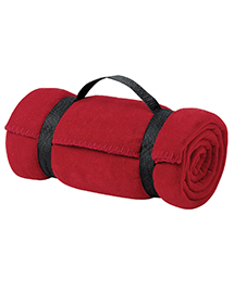 Port & Company BP10 Fleece Value Blanket with Stra
