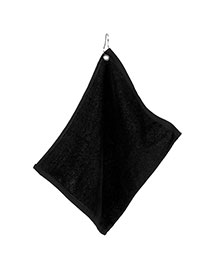 Ultraclub C1518G   H  Large Velour Golf Towel with Grommet  at bigntallapparel