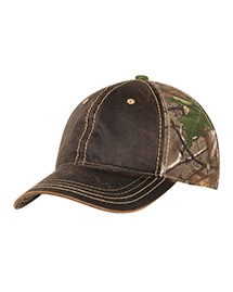 Port Authority C819 ® Pigment-Dyed Camouflage Cap.  at bigntallapparel
