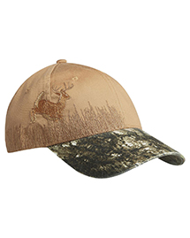 Port Authority C820 NEW ® Embroidered Camouflage Cap.  at bigntallapparel