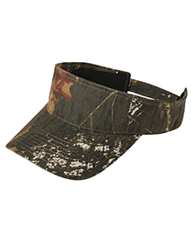 Port Authority C822 ® Camouflage Visor.  at bigntallapparel