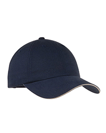Port Authority Signature C832 Mens Reflective Sandwich Bill Cap at bigntallapparel