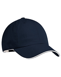 Port Authority Signature C852 Port Authority® - Sandwich Bill Cap.  at bigntallapparel