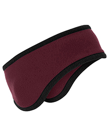 Port Authority C916 Two-Color Fleece Headband at bigntallapparel