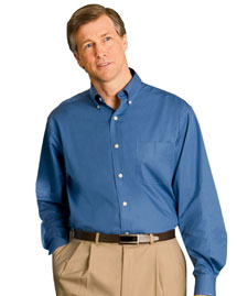 Chestnut Hill CH590 Mens Pima Cotton Poplin at big