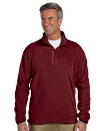 Mens Microfleece Quarter-Zip Pullover