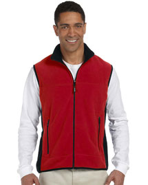 Mens Polartec® Colorblock Full Zip Vest