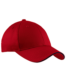 Port & Company CP85 Mens Sandwich Bill Cap at bign