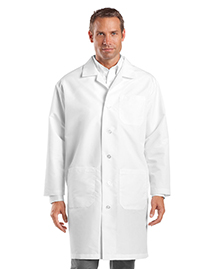 CornerStone CS500 Mens Full Length Lab Coat at bigntallapparel