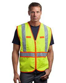 Mens ANSI Class 2 Dual-Color Safety Vest