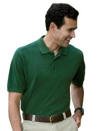 Devon & Jones D130GR Mens Organic Pique Polo at bi
