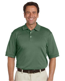 Mens Solid Perfect Pima Interlock Polo