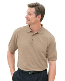 Devon & Jones D190 Mens Oxford Polo at bigntallapp