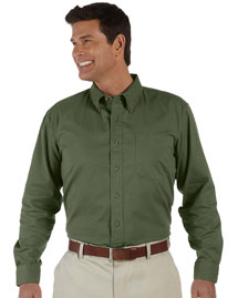 Devon & Jones D500 Men's Long Sleeve Titan Twill