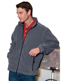 Devon & Jones D780 Mens Wintercept Fleece Full Zip Jacket at bigntallapparel