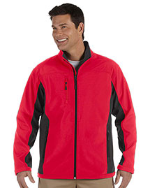 Devon & Jones D997 Men's Soft Shell Colorblock Jacket at bigntallapparel