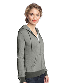 Ladies Mini Stripe Full-Zip...