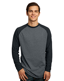 District Threads DT126 Mens Vintage Long Sleeve Ra