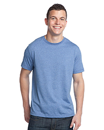 District Threads DT142 Mens Tri-Blend Crewneck Tee at bigntallapparel