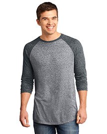 District® Young Mens Microburn? 3/4-Sleeve Raglan Tee DT162