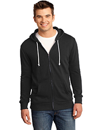 District Threads DT190 Young Mens Core Fleece Full-Zip Hoodie  at bigntallapparel