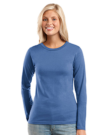 District Threads® - Junior Ladies Long Sleeve Perfect Weight District Tee. DT201