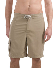 District Threads DT405 Mens Contrast Waist Boardshorts at bigntallapparel
