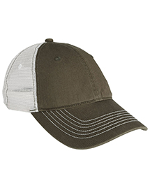 District Threads DT607 Mens Mesh Back Cap at bignt