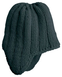 District Threads DT609 Mens Chunky Knit Cap at big