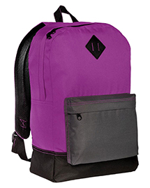 District Threads DT715 District® Retro Backpack  at bigntallapparel