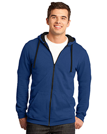 District Threads DT800 District® Young Mens Concert Fleece? Full-Zip Hoodie at bigntallapparel