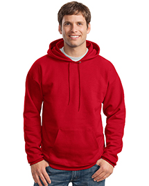 Hanes F170 Ultimate Cotton Mens Pullover Hooded SweatShirt at bigntallapparel
