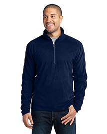 Port Authority F224 Microfleece 1/2-Zip Pullover at bigntallapparel