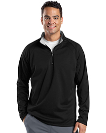 Sport-Tek F243 Mens 1/4 Zip Sport Wick Fleece at bigntallapparel
