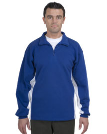 Mens 1/4 Zip SweatShirt with Contrast Color