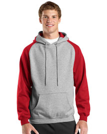 Mens Colorblock Pullover Hooded SweatShirt
