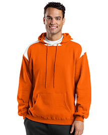 Mens Pullover Hooded SweatShirt with Contrast Color