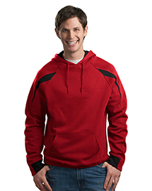 Mens ColorSpliced Pullover Hooded SweatShirt
